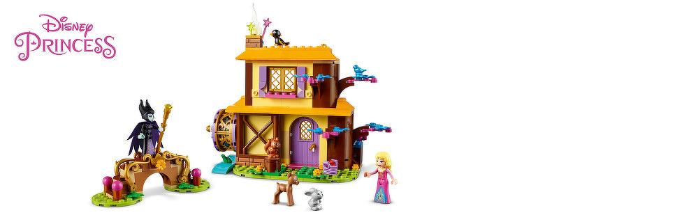 LEGO® Auroras Hütte im Wald 43188