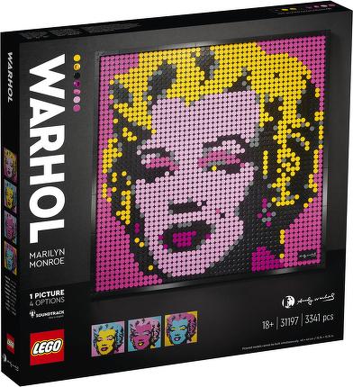 LEGO® Andy Warhol's Marilyn Monroe 31197